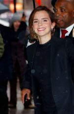 EMMA WATSON at Good Morning America in New York 03/10/2017