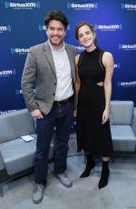 EMMA WATSON at SiriusXM Studio in New York 03/10/2017