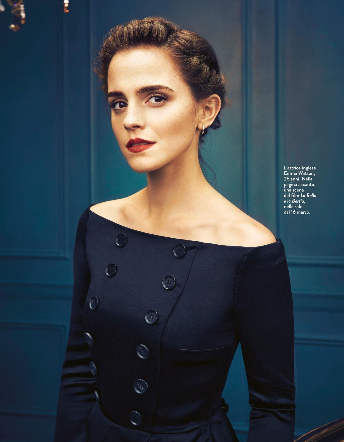 EMMA WATSON in Grazia Magazine, Italy March 2017