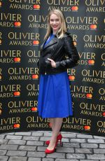 EMMA WILLIAMS at Olivier Awards Nominees Luncheon in London 03/10/2017