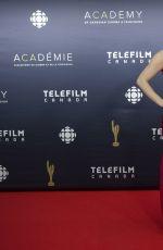 ERICA DIRANCE at Canadian Screen Awards 2017 in Toronto 03/12/2017