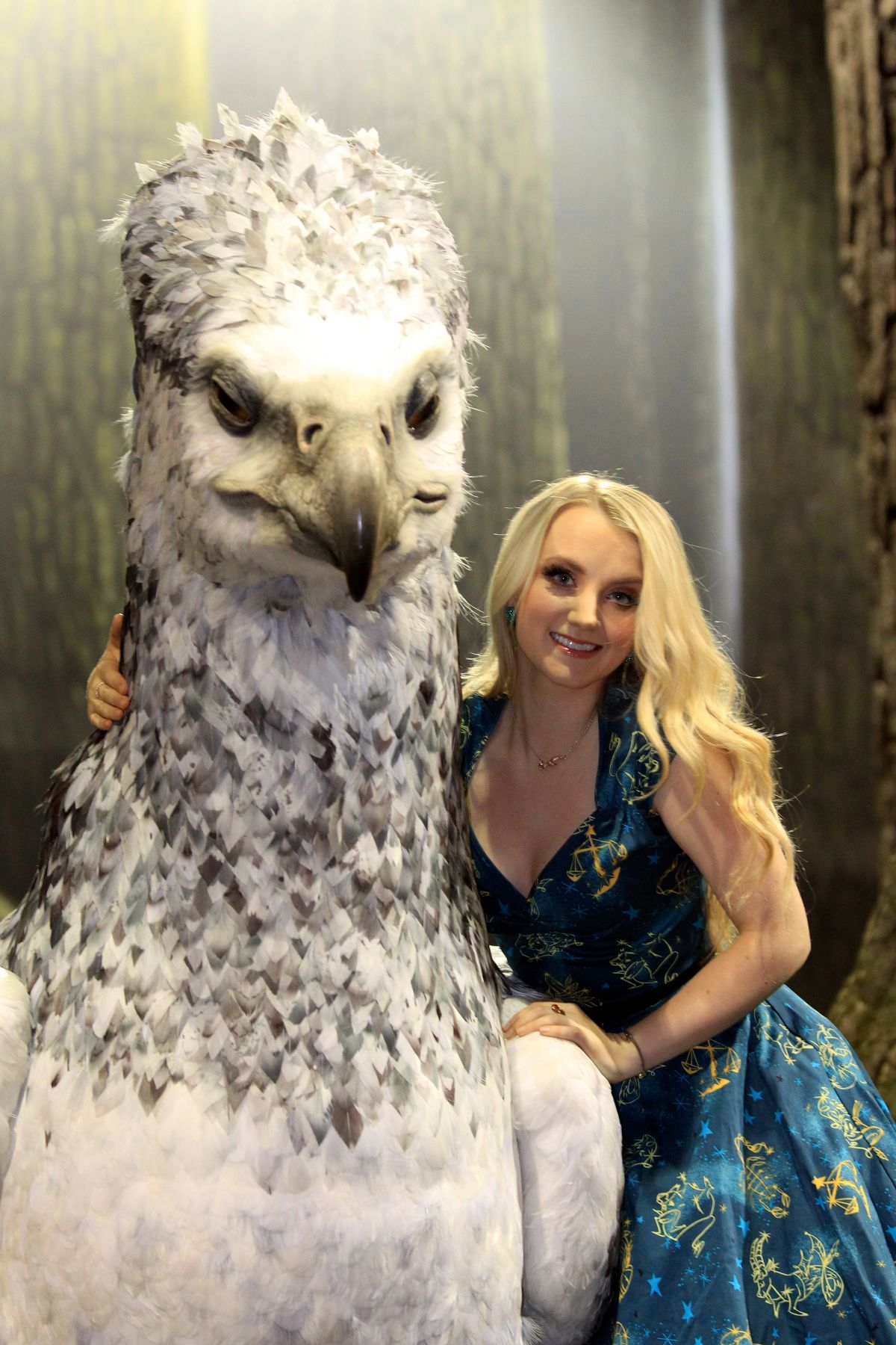 EVANNA LYNCH at Harry Potter the Forbidden Forest Studio Tour Launch 03/08/2017