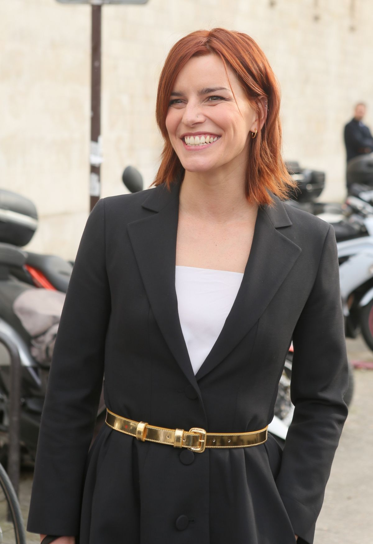 FAUVE HAUTOT Leaves Christian Dior Fashion Show in Paris 03/03/2017