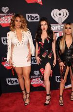 FIFTH HARMONY at 2017 iHeartRadio Music Awards in Los Angeles 03/05/2017