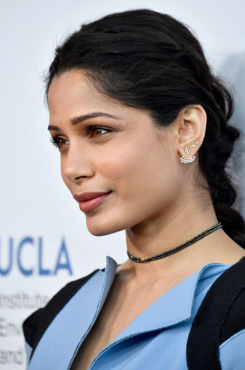 FREIDA PINTO at UCLA C...