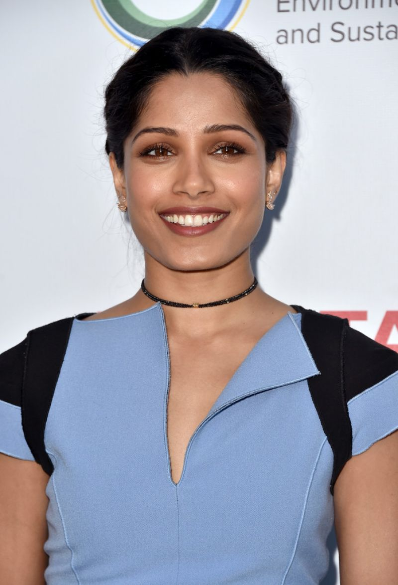 FREIDA PINTO at UCLA Celebrates Innovators for a Healthy ... Freida Pinto