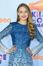 GAIL SOLTYS at Nickelodeon 2017 Kids' Choice Awards in Los Angeles 03/11/2017