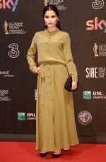 GIULIA ELETTRA GORIETTI at David Di Donatello Awards in Rome 03/27/2017