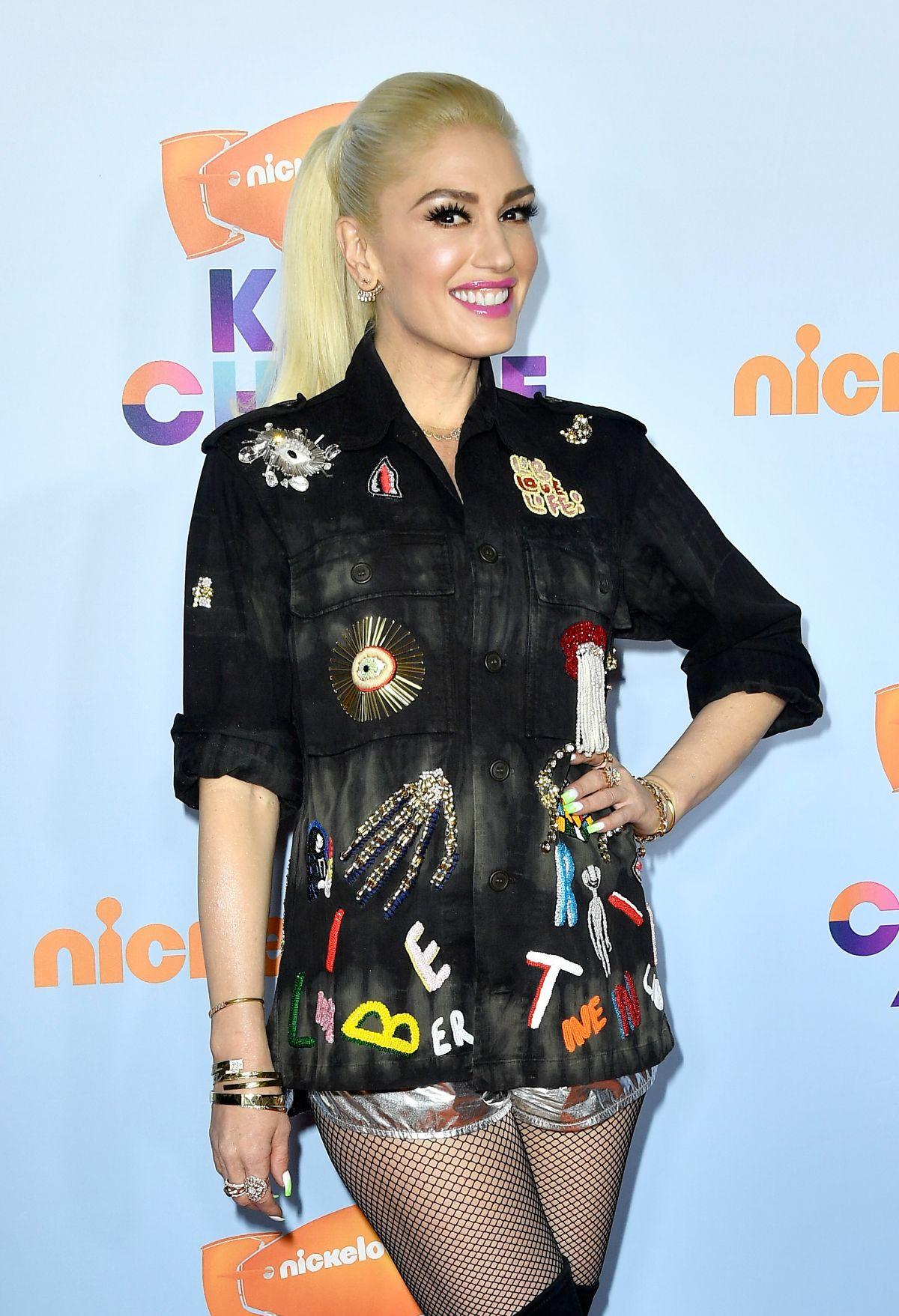 GWEN STEFANI at Nickelodeon 2017 Kids' Choice Awards in ...