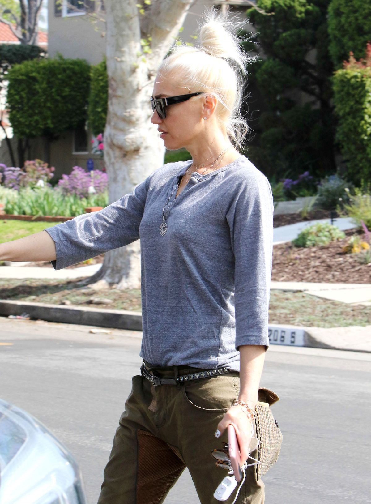 GWEN STEFANI Out and About in Hollywood 03/18/2017 ...