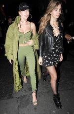 HAILEY BALDWIN and CAMI MORRONE Leavies Pink Pariadie Strip Club in Paris 03/01/2017