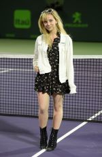 HAILEY KNOX Performs at 2017 Miami Open 03/24/2017