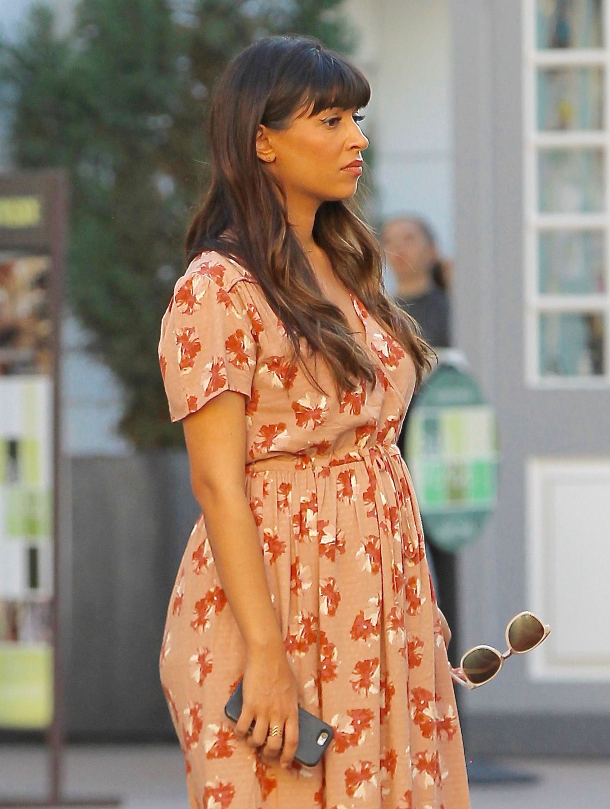 HANNAH SIMONE Shopping at The Grove in Los Angeles 03/09/2017