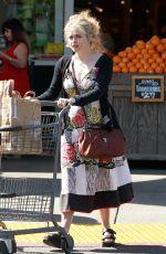 HELENA BONHAM CARTER Shopping at Bristol Farms in West Hollywood 03/08/2017