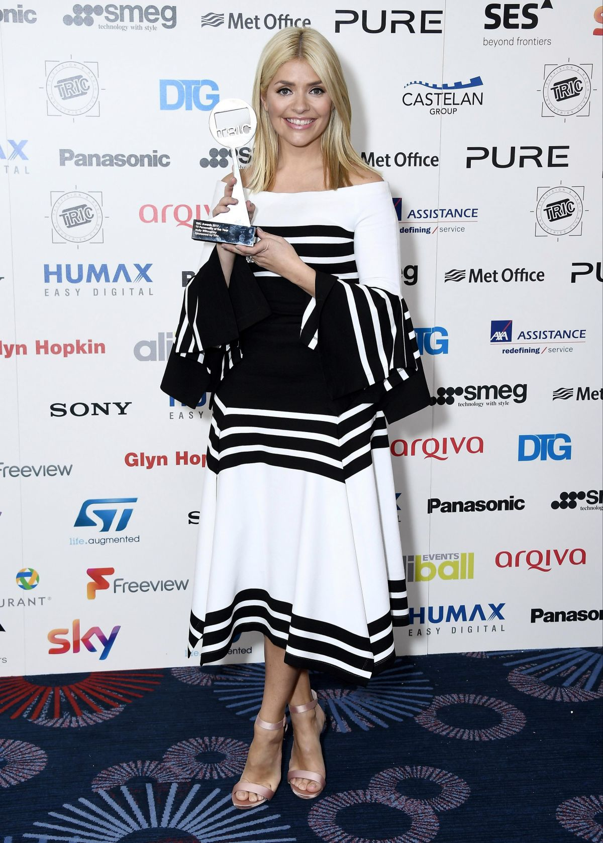 HOLLY WILLOUGHBY at TRIC Awards 2017 in London 03/14/2017
