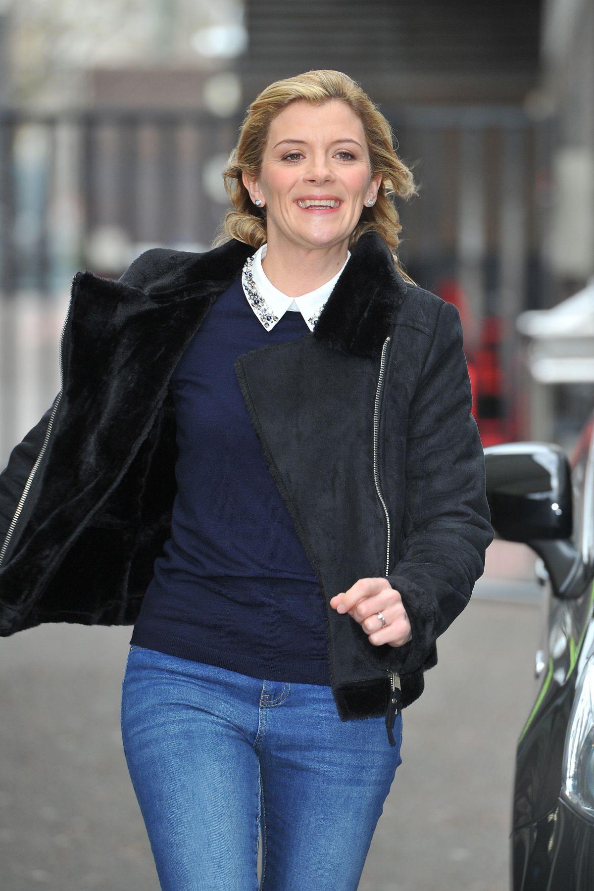 JANE DANSON Arrives at ITV Studios in London 03/02/2017