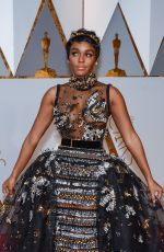 JANELLE MONAE at 89th Annual Academy Awards in Hollywood 02/26/2017