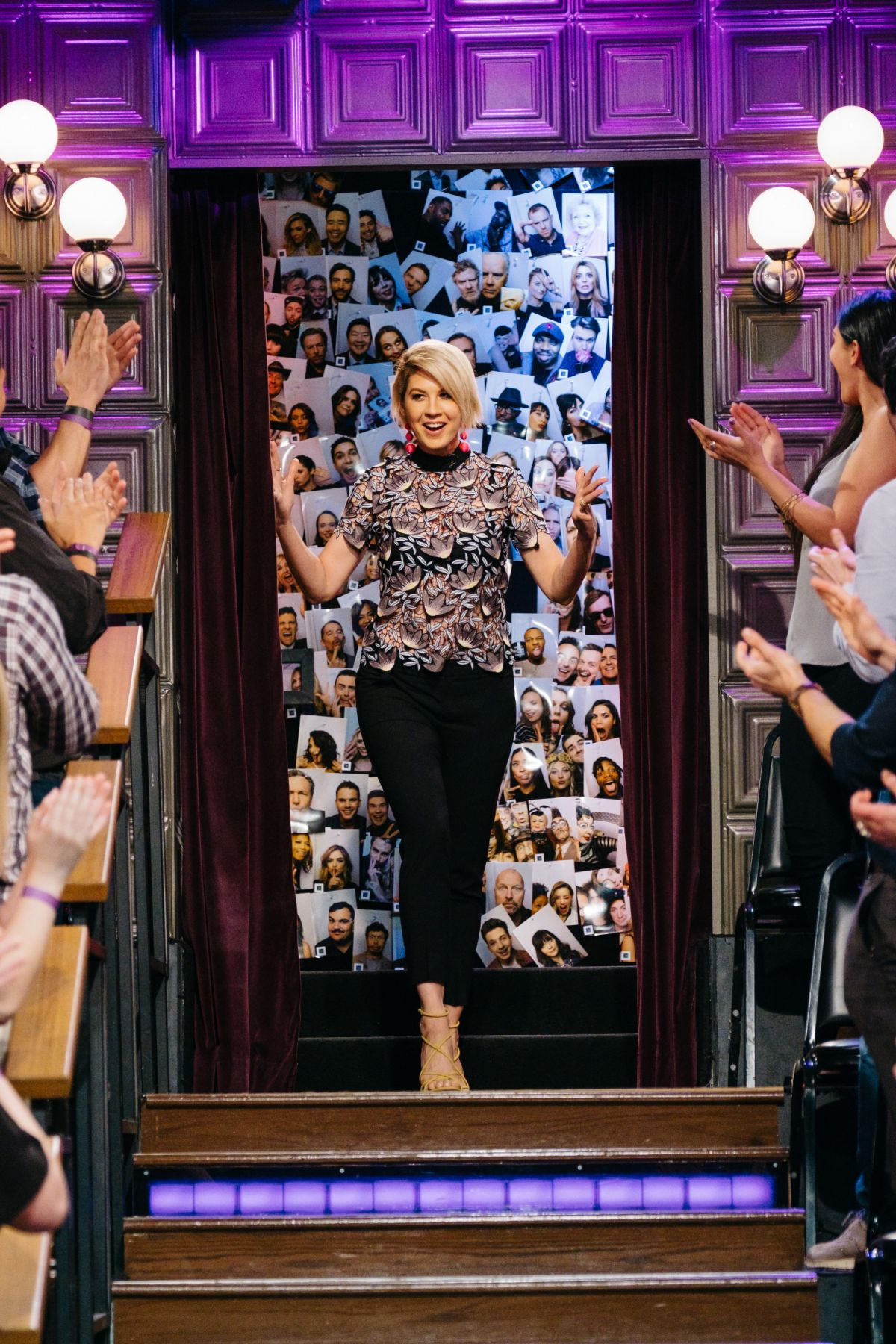 JENNA ELFMAN at Late Late Show with James Corden 03/23/2017