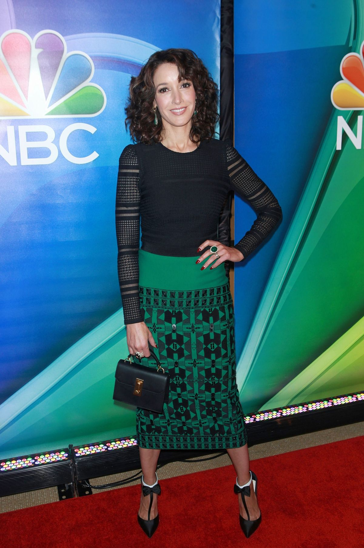 JENNIFER BEALS at NBC Mid-season Press Day in New York 03/02/2017