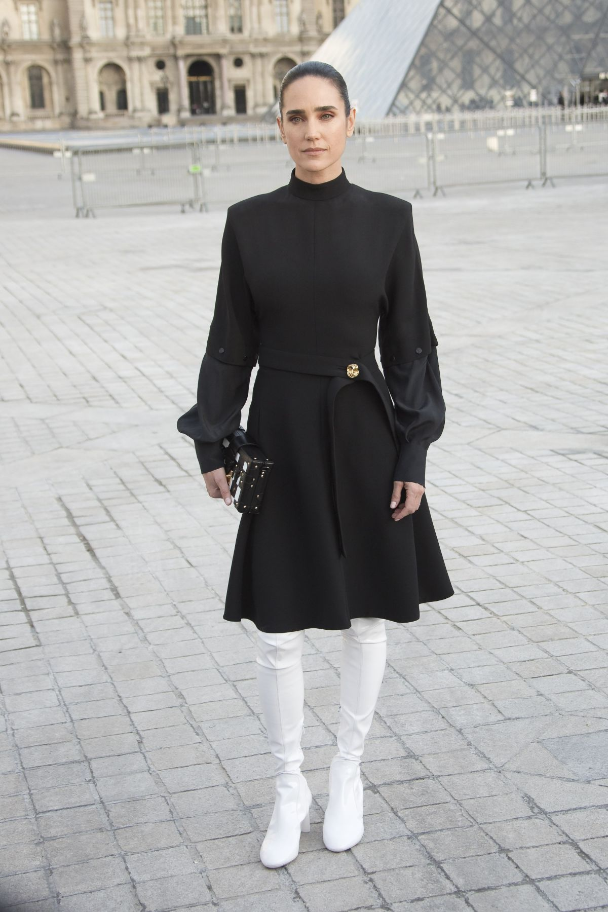 Jennifer Connelly At Chanel Fashion Show In Paris 03 07
