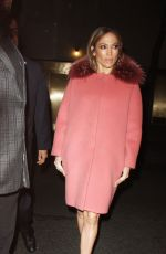 JENNIFER LOPEZ Arrives at NBC Studios in New York 03/02/2017