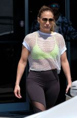 JENNIFER LOPEZ at a Gym in Miami 03/16/2017