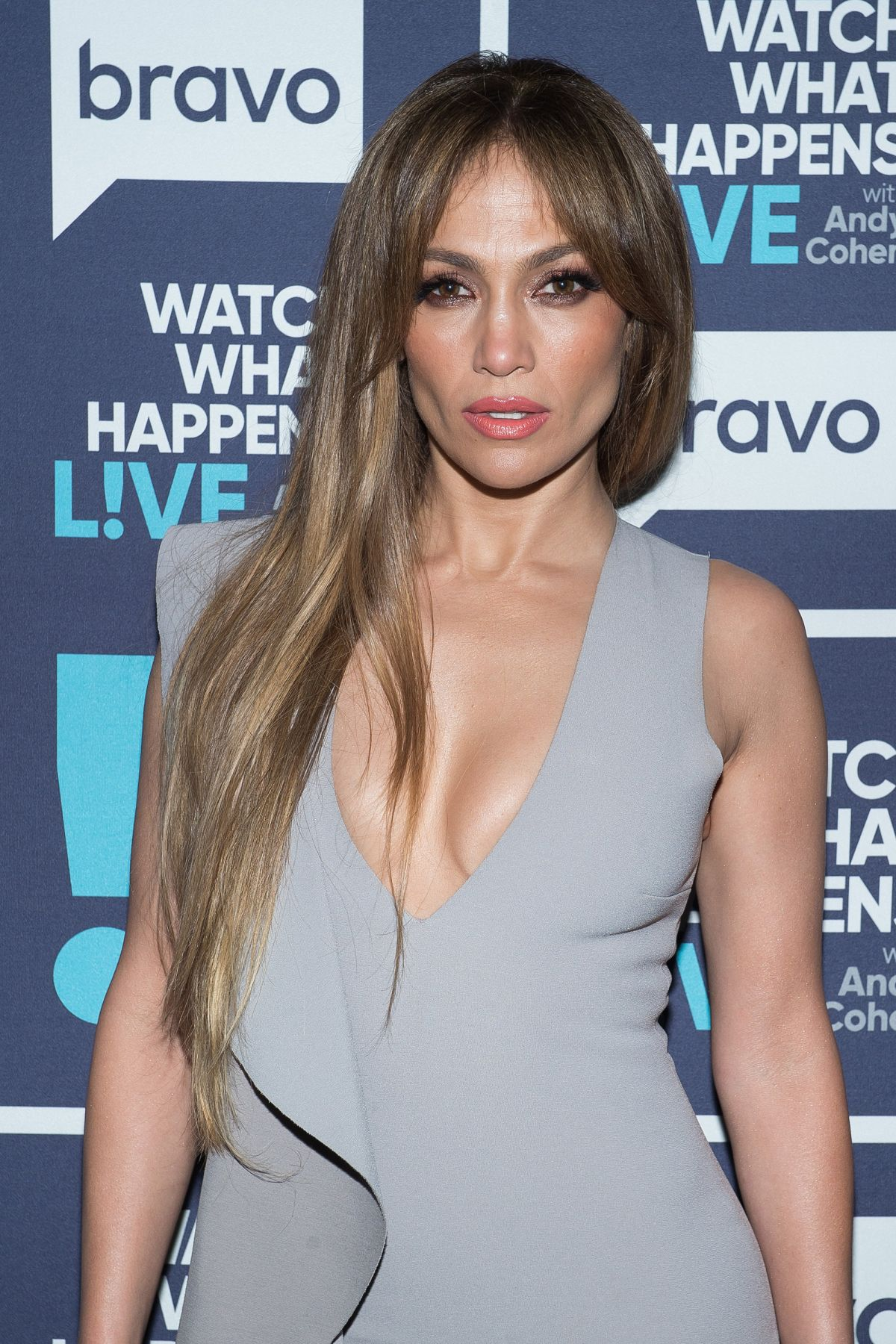 JENNIFER LOPEZ at Watch What Happens Live in New York 03/08/2017