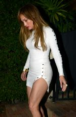 JENNIFER LOPEZ Out for Dinner in Miami 03/16/2017