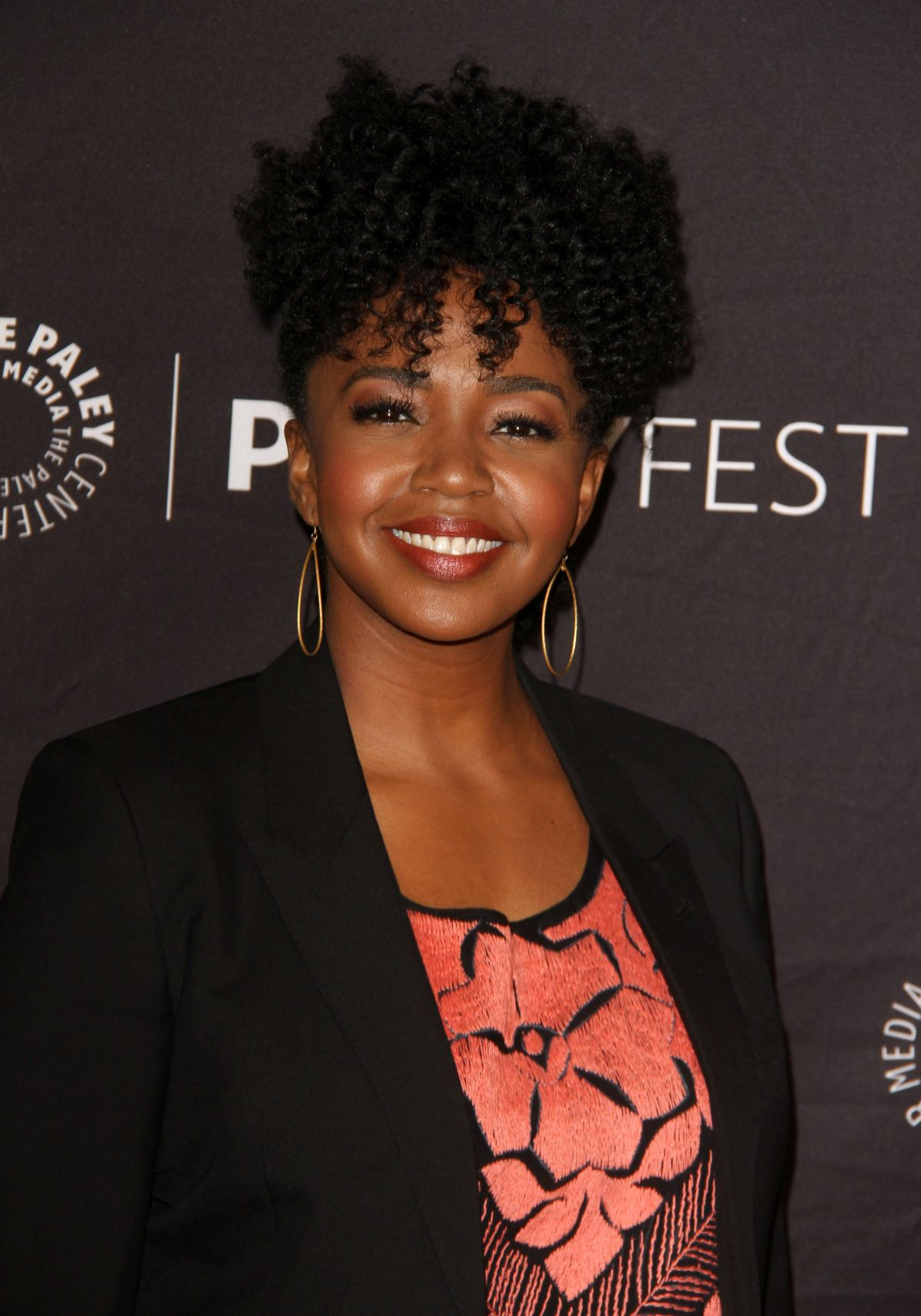 JERRIKA HINTON at 34th Annual PaleyFest in Los Angeles 03/19/2017