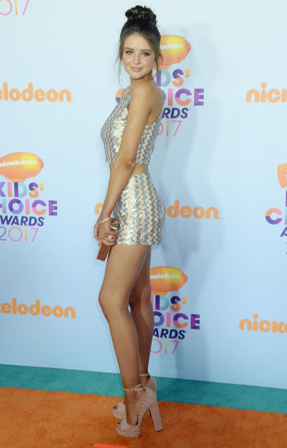 JESS CONTE at Nickelodeon 2017 Kids' Choice Awards in Los Angeles 03/11/2017