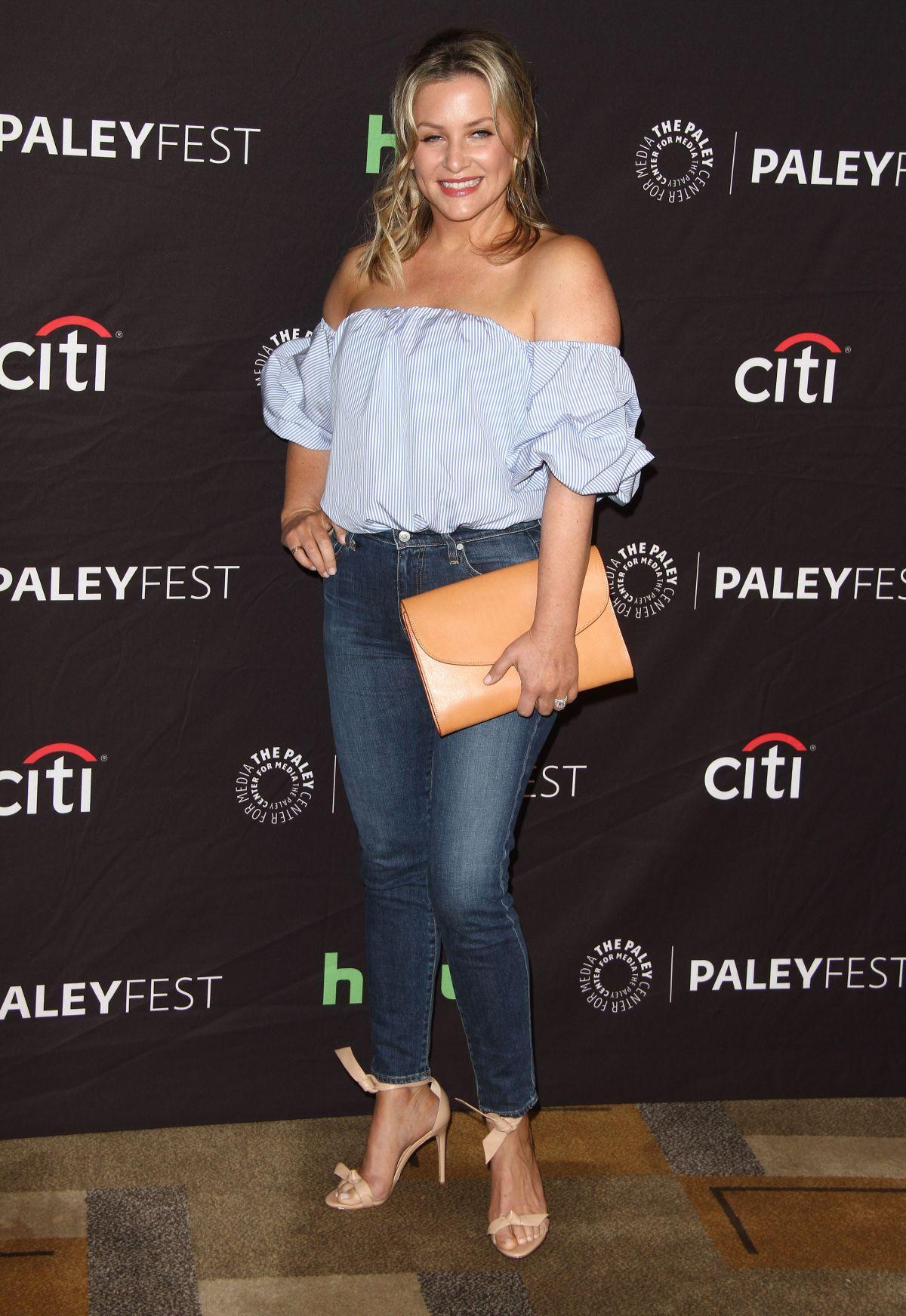 Jessica Capshaw Annual Paleyfest Los Angeles Demi Lovato Jesse Williams