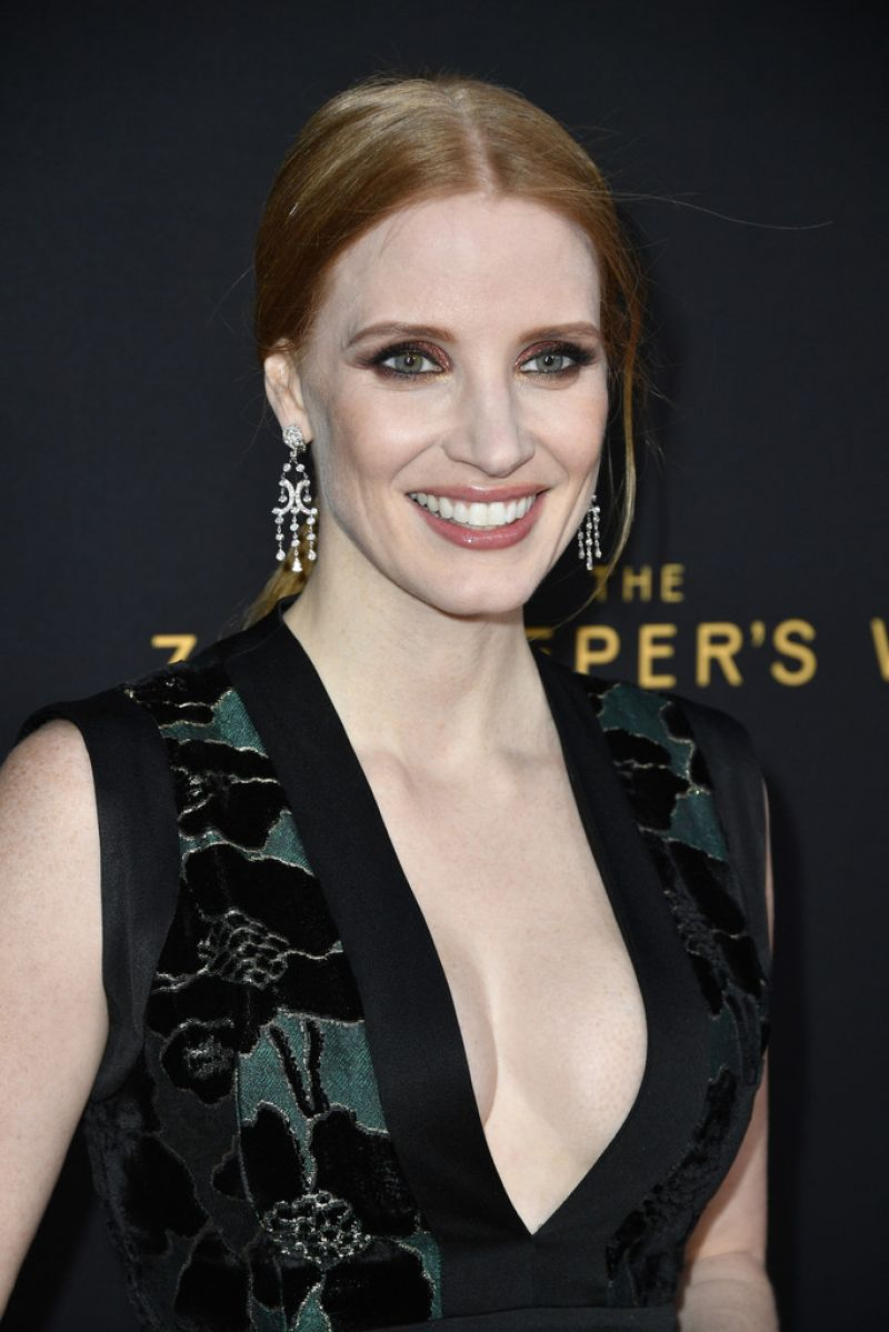 JESSICA CHASTAIN at Zoo Keeper's Wife Premiere in Hollywood 03/27/2017 ... Jessica Chastain