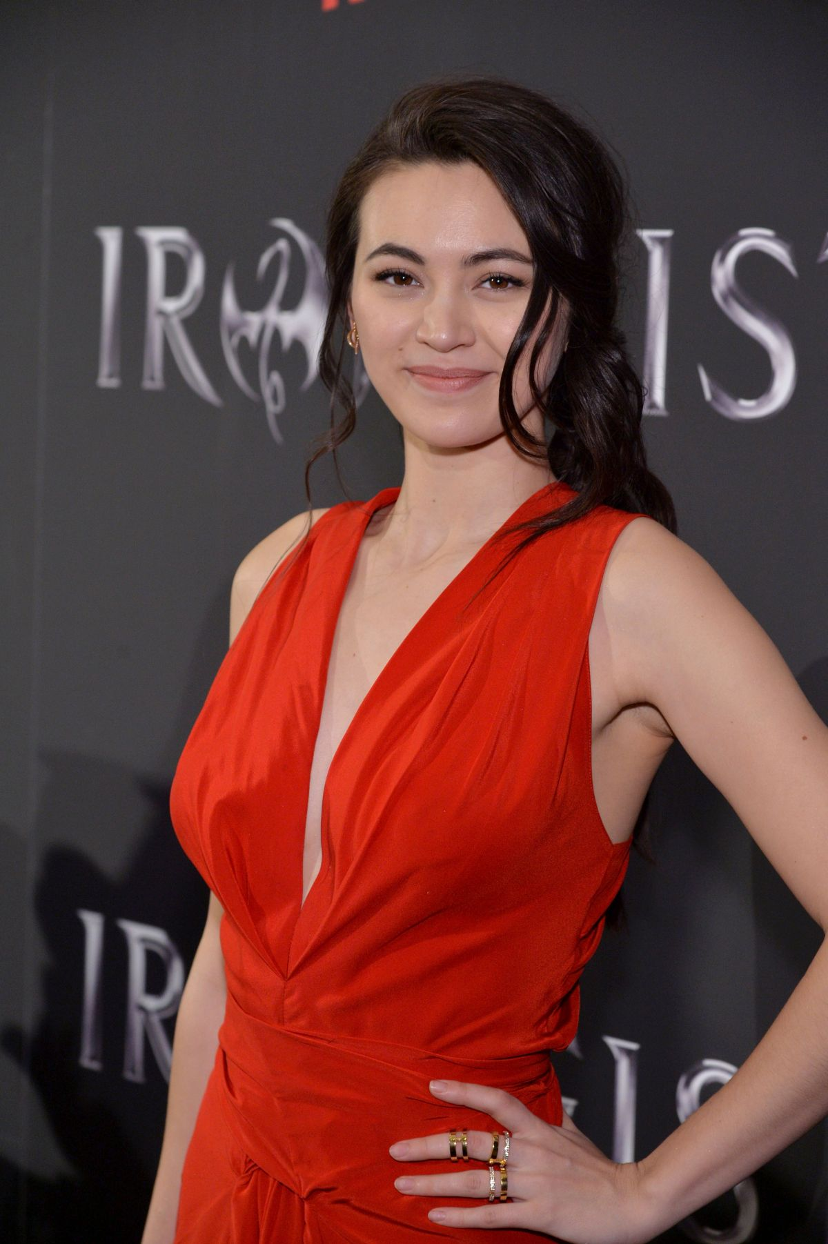 JESSICA HENWICK at Iron Fist Premiere in New York 03/15/2017