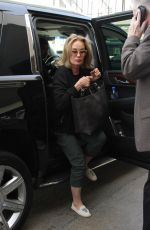 JESSICA LANGE Arrives at LAX Airport in Los Angeles 03/03/2017