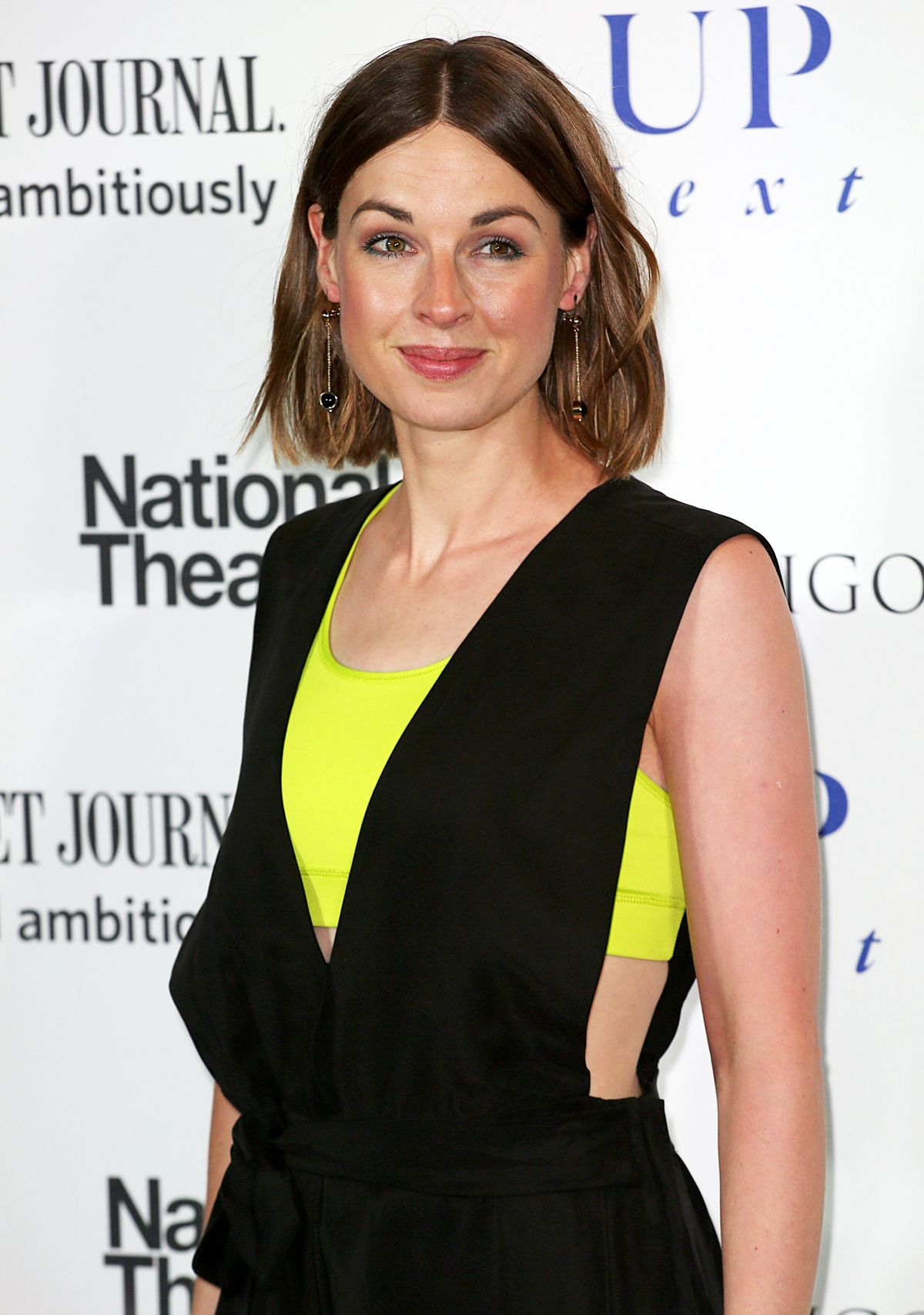 JESSICA RAINE at National Theatre Gala in London 03/07