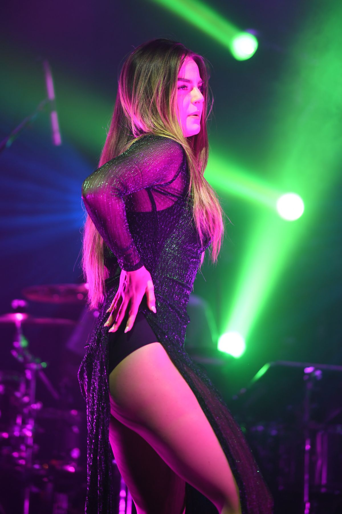 JOANNA JOJO LEVESQUE Performs at Mad Love Tour in Fort Lauderdale 03/21/2017