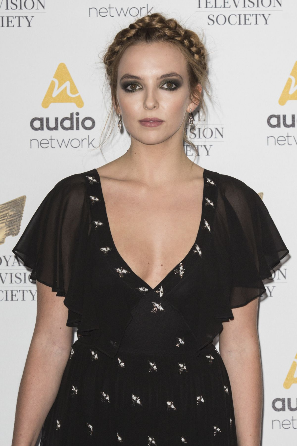 JODIE COMER at Royal Television Society Programme Awards in London 03/21/2017
