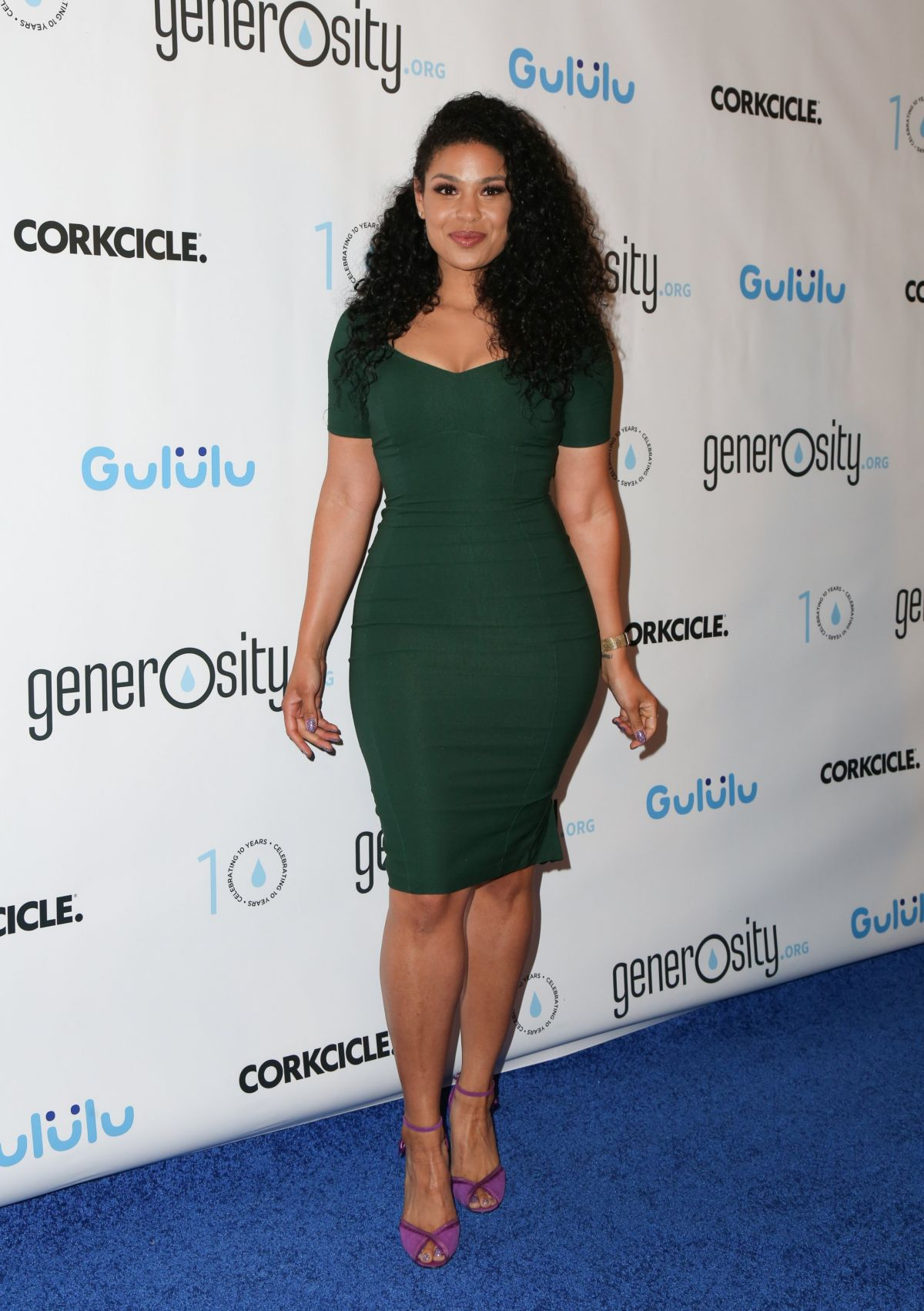 JORDIN SPARKS at Generosity.org Fundraiser for World Water Day in Beverly Hills 03/21/2017