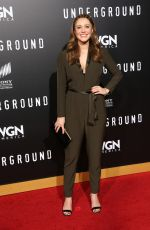 JULIANNA Guill at 'Underground' Season Two Premiere in Los Angeles 02/28/2017