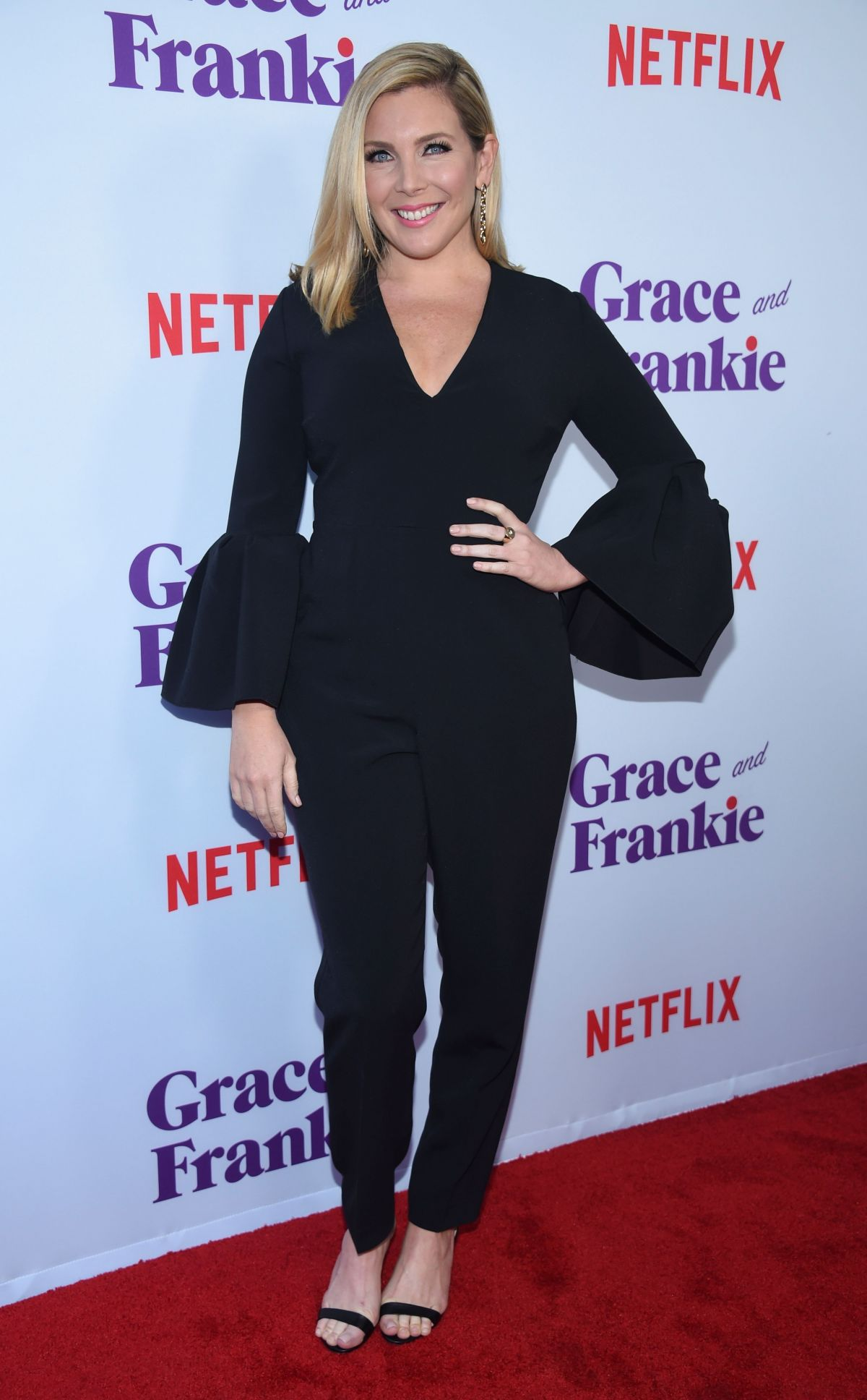 JUNE DIANE RAPHAEL at Grace and Frankie Season 3 Premiere in Los Angeles 03/22/2017