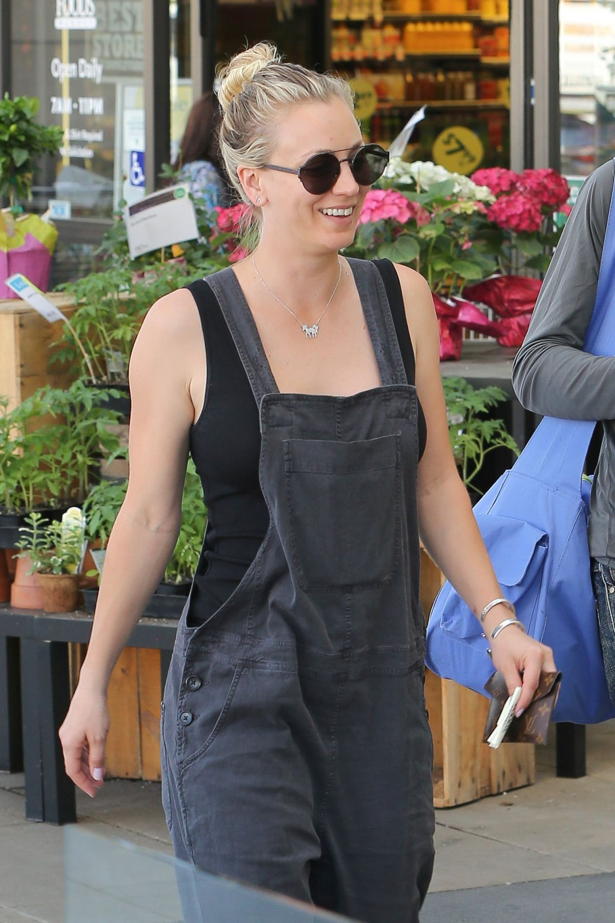 KALEY CUOCO out for Grocery Shopping at Whole Foods in Los Angeles 03/13/2017