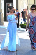 KARA DEL TORO and ELLIE GONSALVES Out Shopping in Los Angeles 03/29/2017