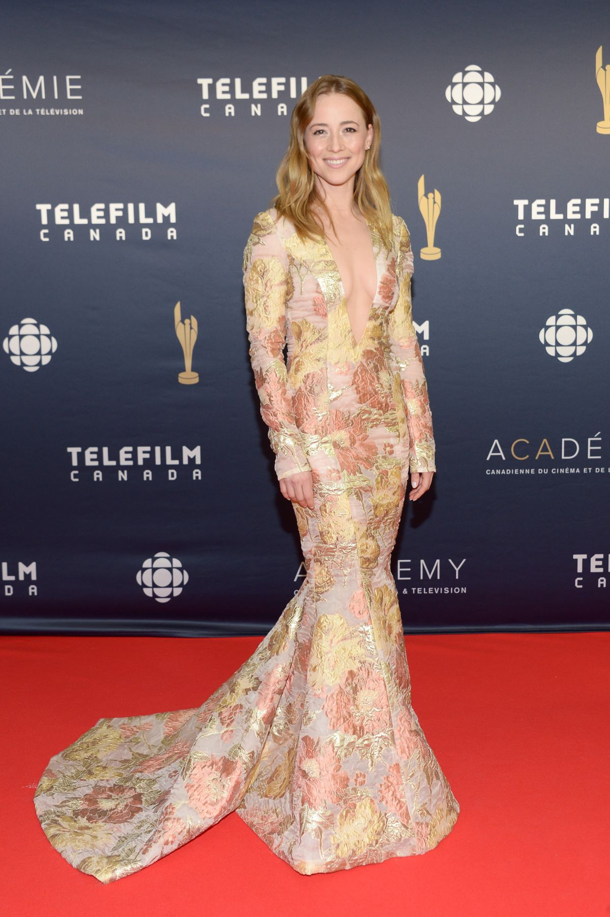 KARINE VANASSE at Canadian Screen Awards 2017 in Toronto 03/12/2017