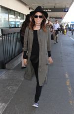 KARLA SOUZA at LAX Airport in Los Angeles 03/02/2017