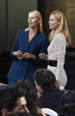 KAROLINA KURKOVA and DANIELA PESTOVA at Mercedes-Bbenz Prague Fashion Week 03/21/2017