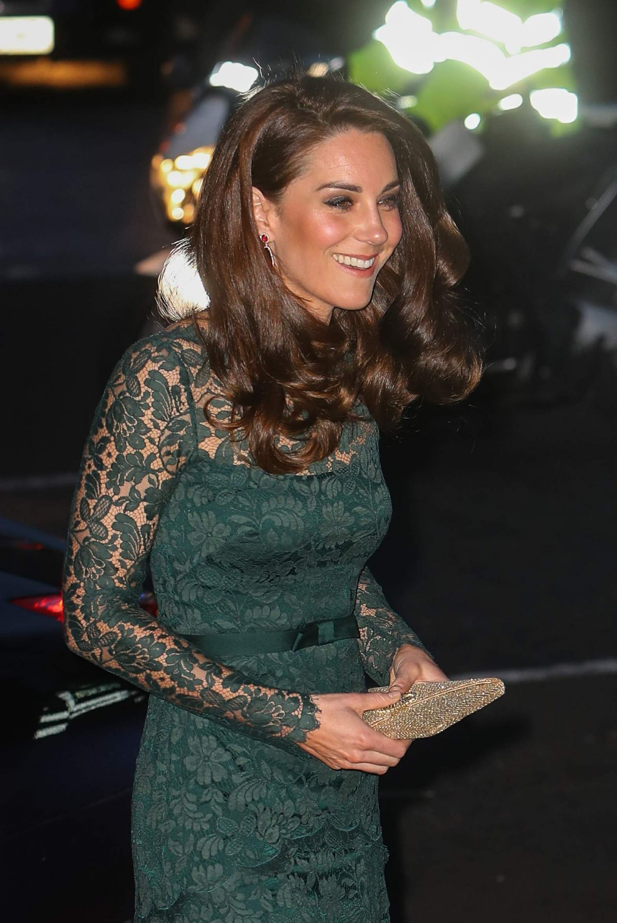 KATE MIDDLETON at Glittering Gala at National Portrait Gallery in London 03/28/2017