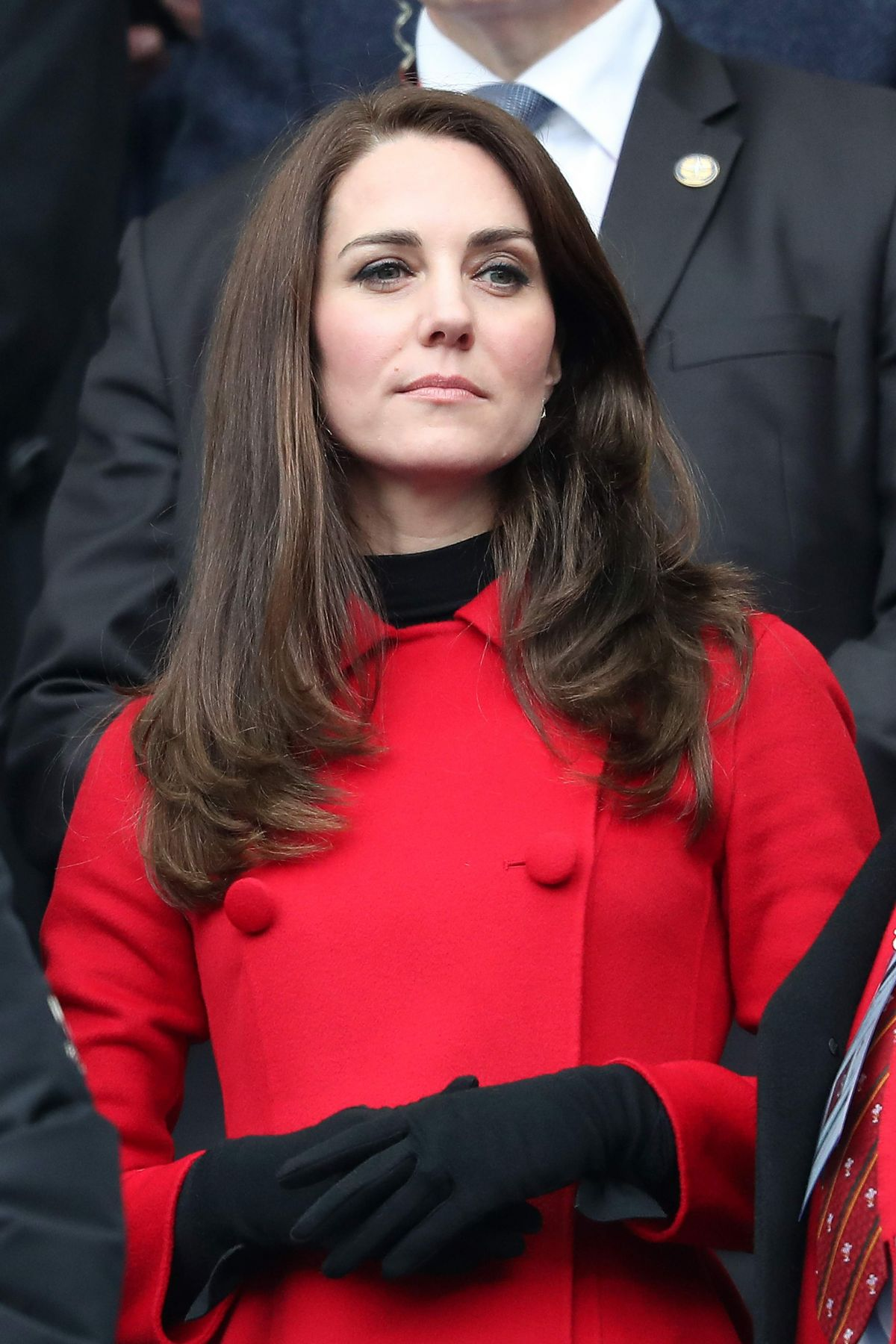 KATE MIDDLETON at Wales vs France Match in France 03/18/2017