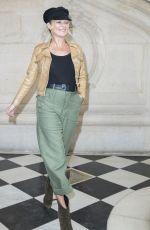 KATE MOSS at Christian Dior Fashion Show in Paris 03/03/2017