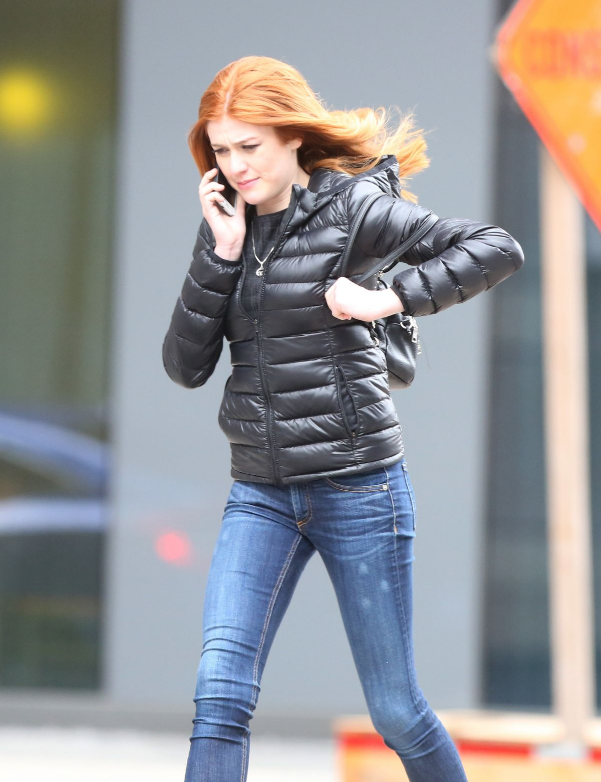 KATHERINE MCNAMARA Out and About in Toronto 03/26/2017