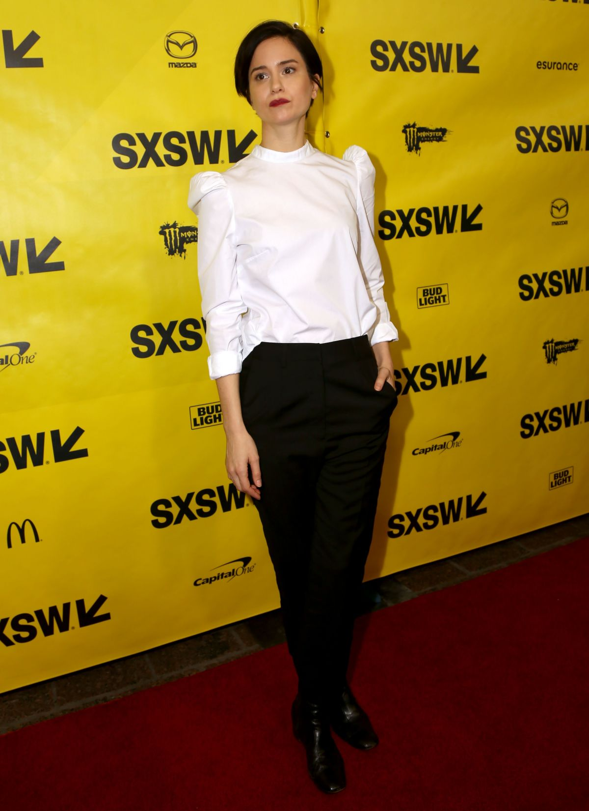 KATHERINE WATERSTON at Alien: Covenant Screening at 2017 SXSW Festival in Austin 03/10/2017